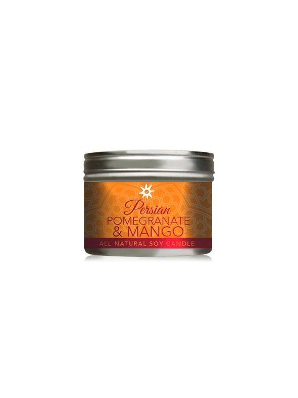 Mango and Pomegranate Candle - 10oz Tin