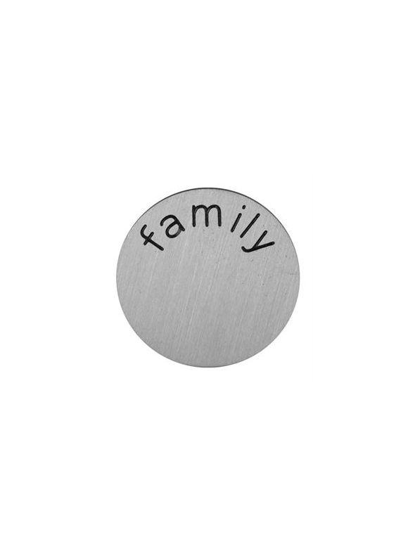 'Family' Mini Silver Coin