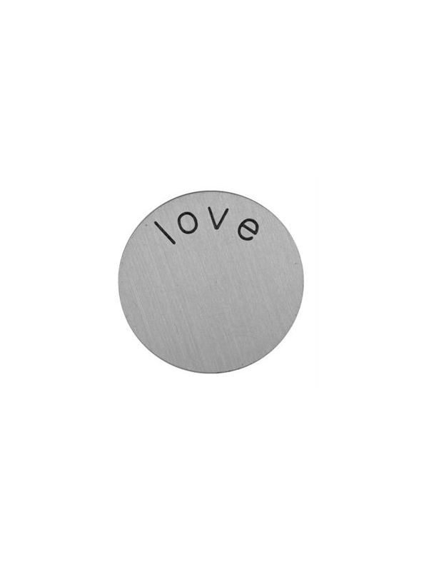 'Love' Mini Silver Coin