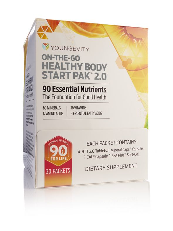 On-The-Go Healthy Body Start Pak™ 2.0 - 30 packets