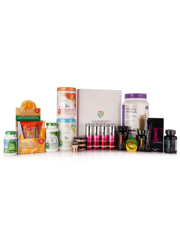 Women's Wellness CEO Mega Pak - Light 2 Mini Kit