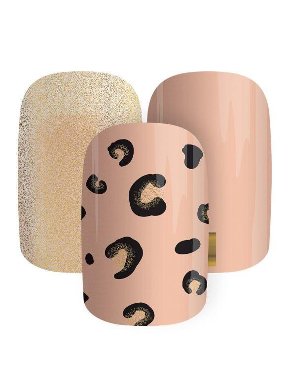 Cheetah-fied - Nail Gel Strips
