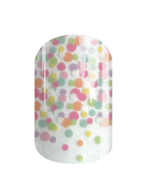 Pastel Confetti - Nail Wrap