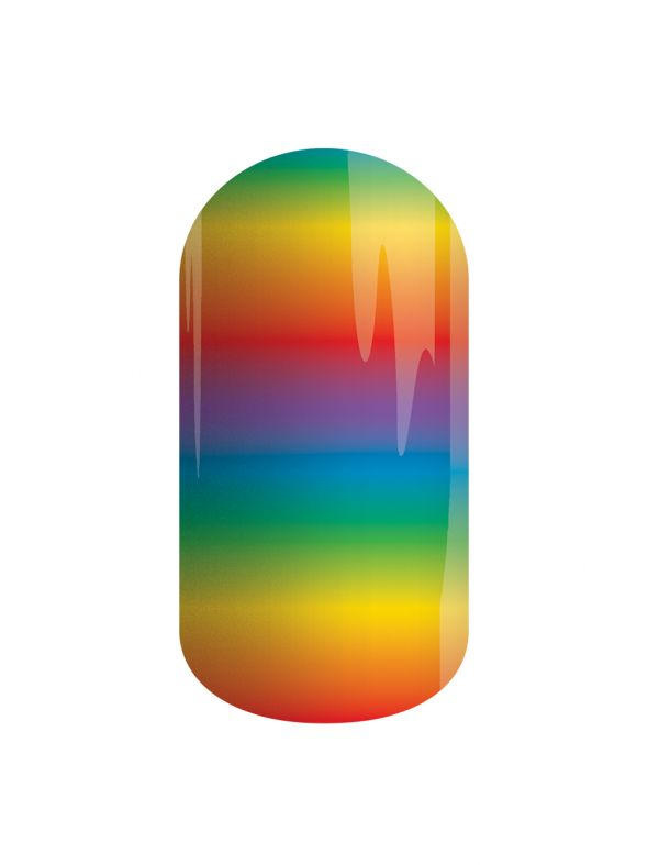 Follow the Rainbow - Lacquer Strip