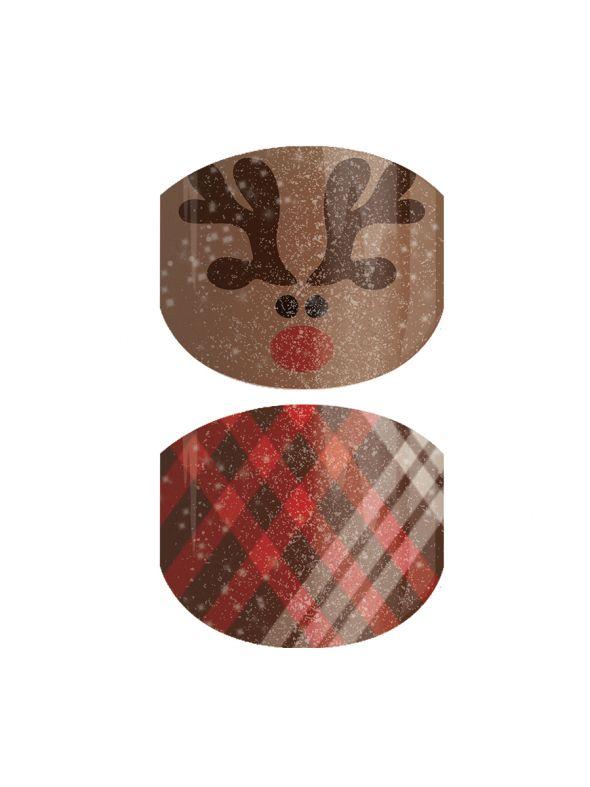 Rudolph Roundup Jr - Nail Wrap