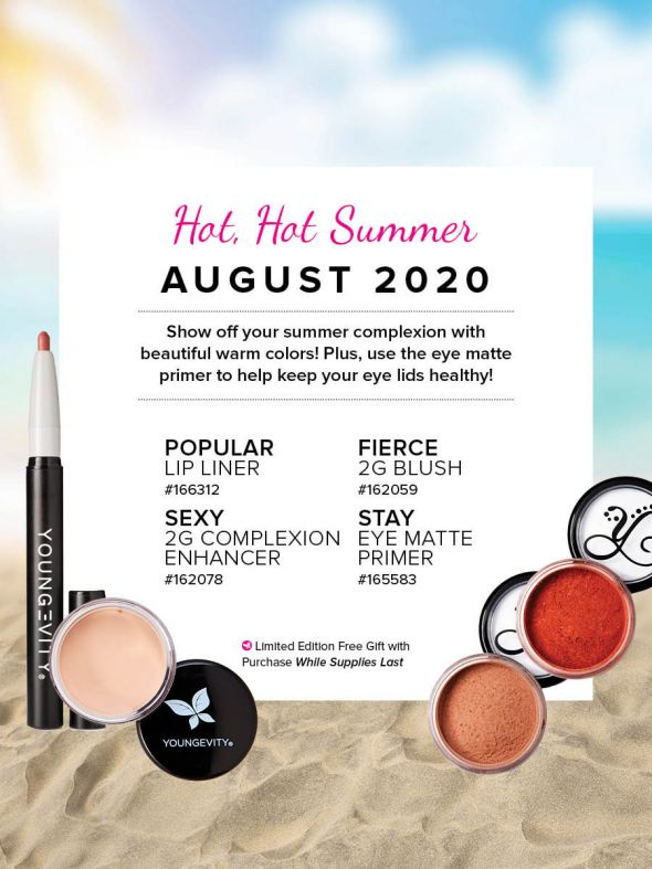 Mineral Makeup of the Month Club - August 2020